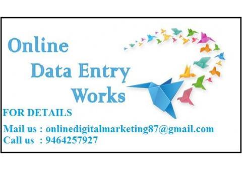 Digital Online Work at Home.